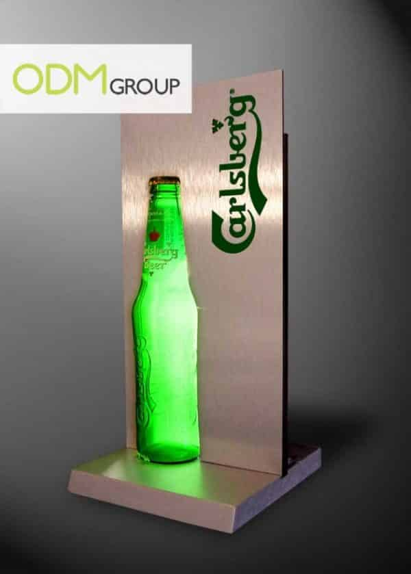 Promo gift ideas for beer companies - Bottle glorifier