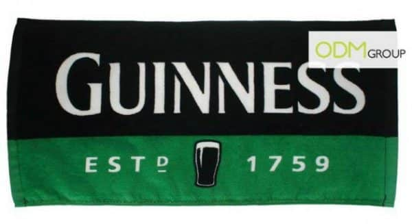 Promo gift ideas for beer companies - bar towel