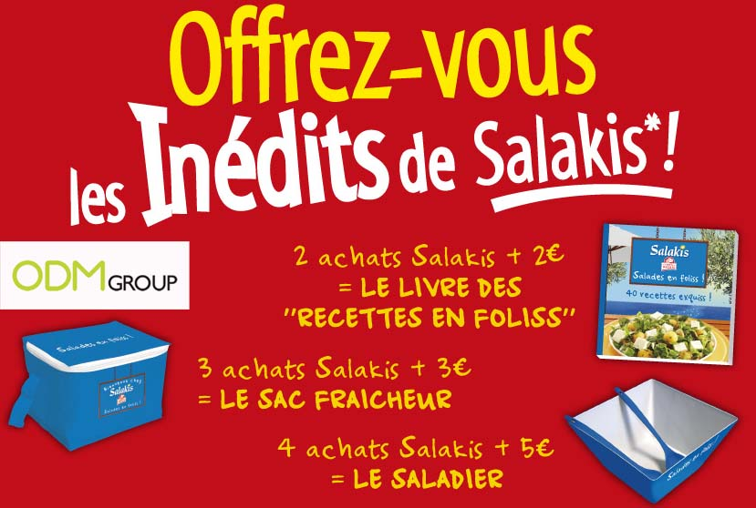Promotional Gift France - Salakis Summer Promotion