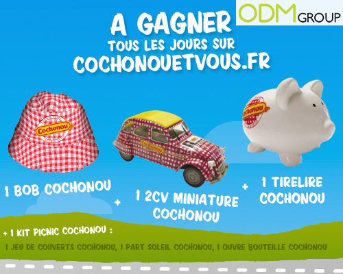Promotional Product France - Cochonou gifts for the Tour de France 2012