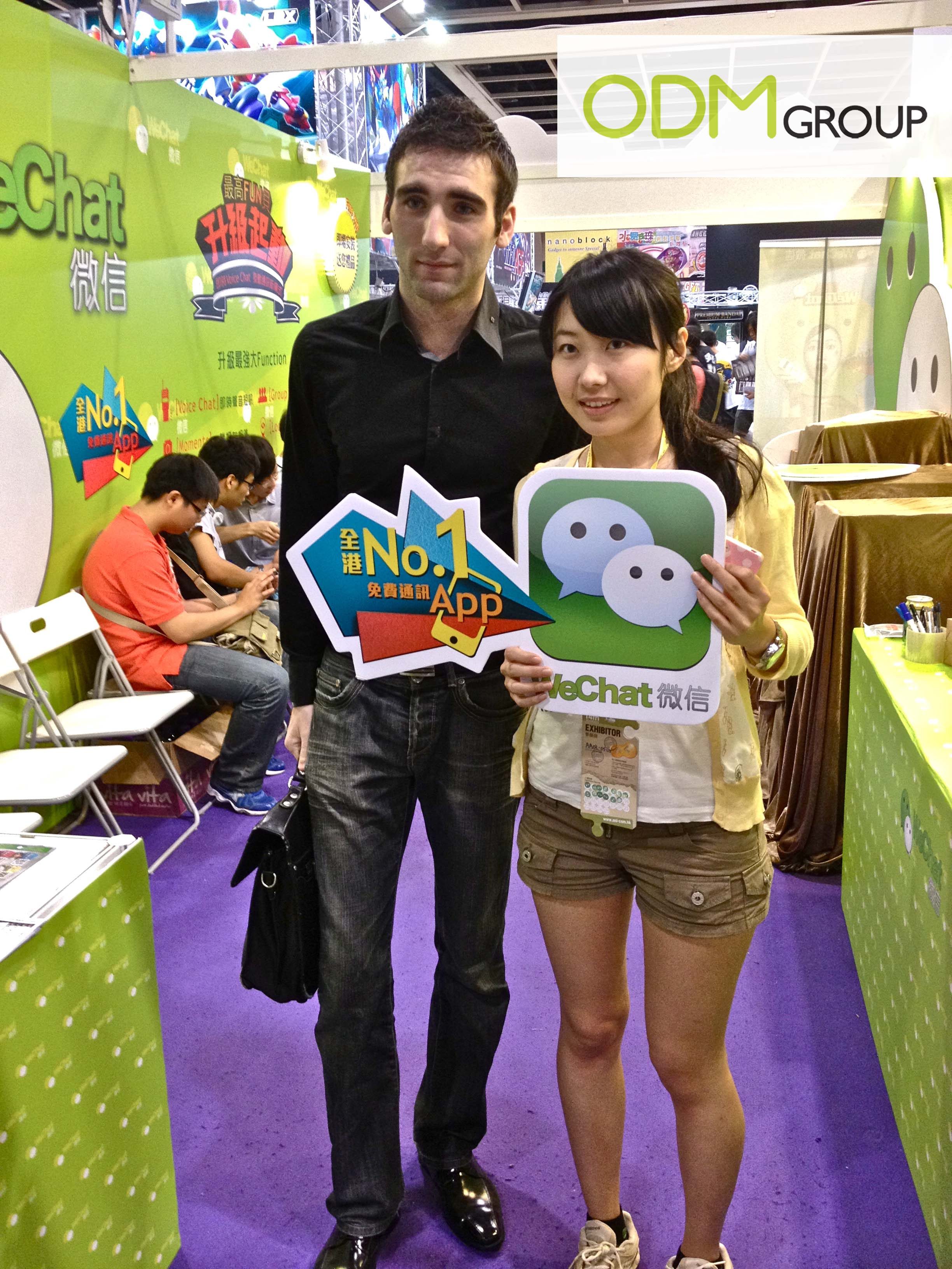 WeChat Promotion on ACGHK 2012