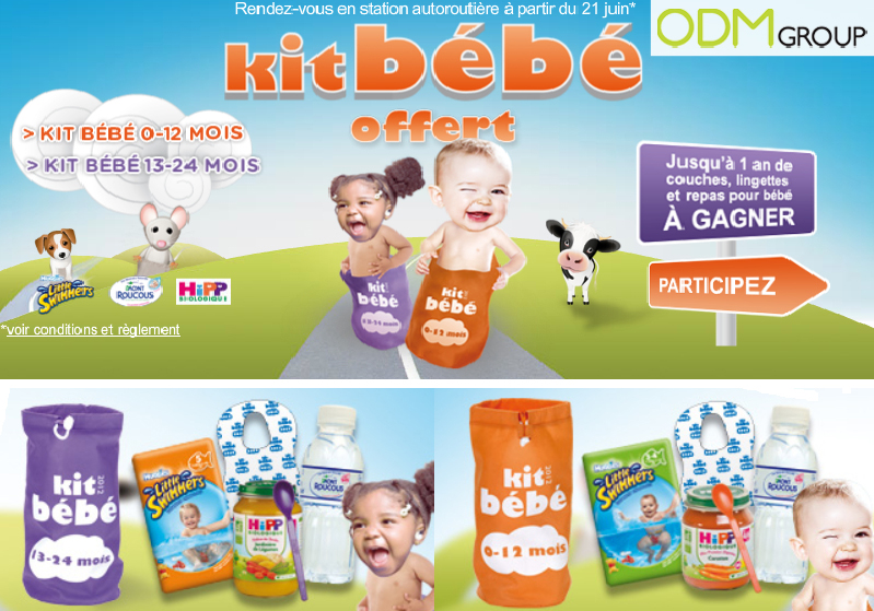 Promotional Product France - Baby Kit by Total