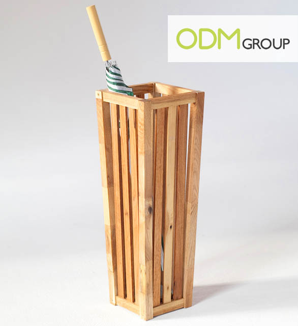 Wooden umbrella stand theodmgroup