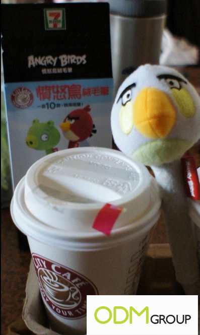 7 Eleven Angry Birds Promo
