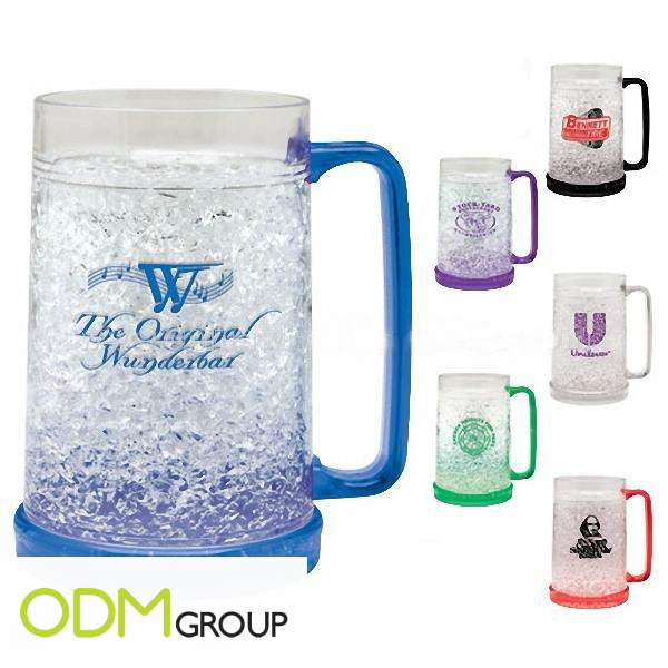 Promotional Ideas for Drinks Companies - Gel Freezer Mug