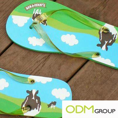 Ben & Jerry's Promo Flip Flop's Denmark