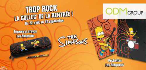 GWP France - The Simpsons School Stationary