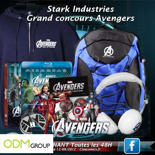 Promo Gift France - Avengers Gifts by Cinecomics