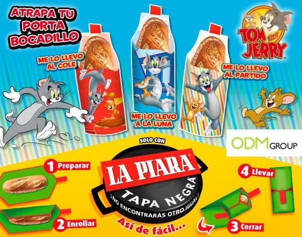 GWP Promotional Sandwich Holder la Piara SPAIN