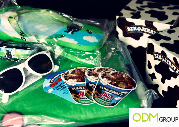 Ben & Jerry's Promotional Gift