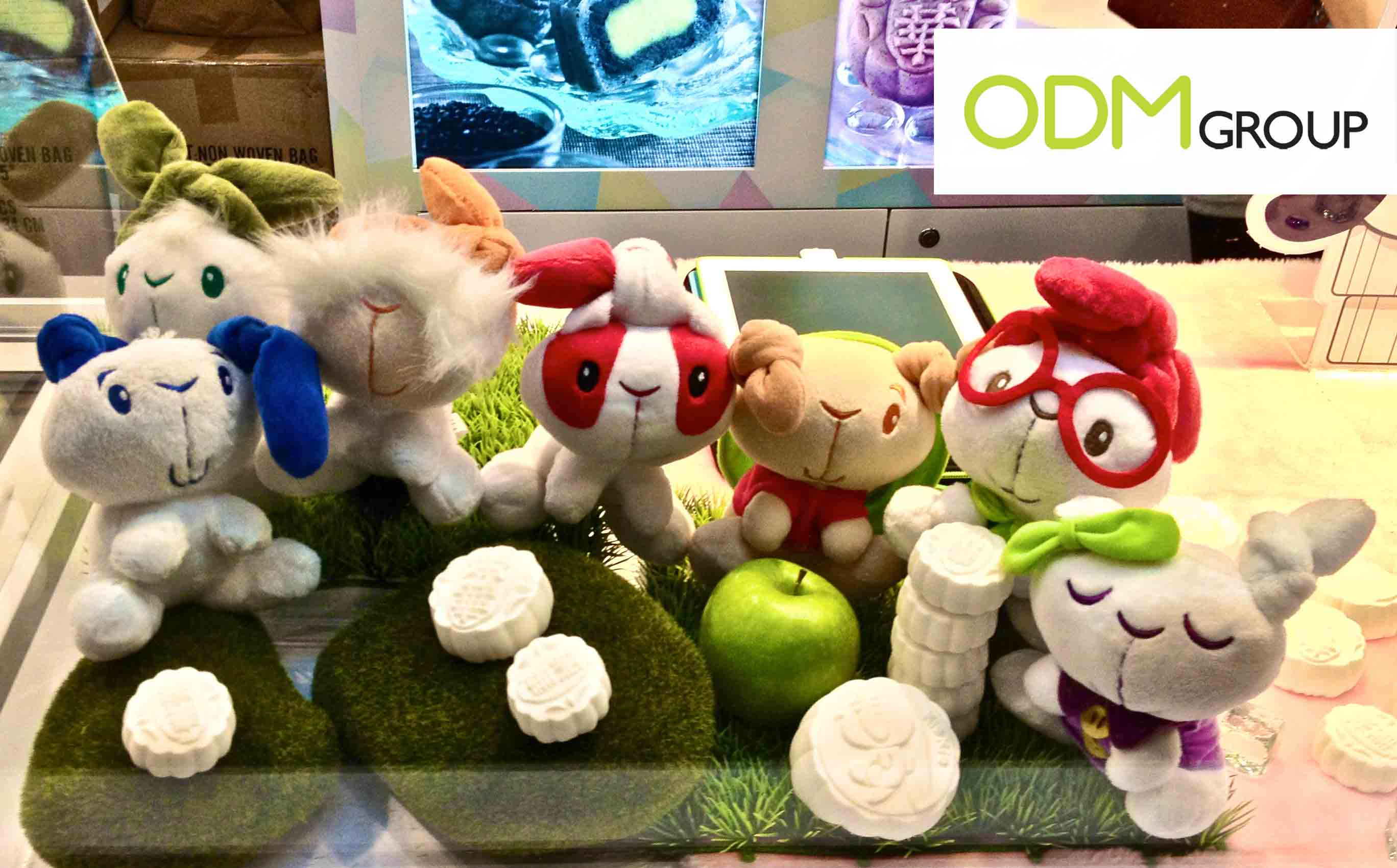 Promotional Product HK - Plushes at the Food Expo