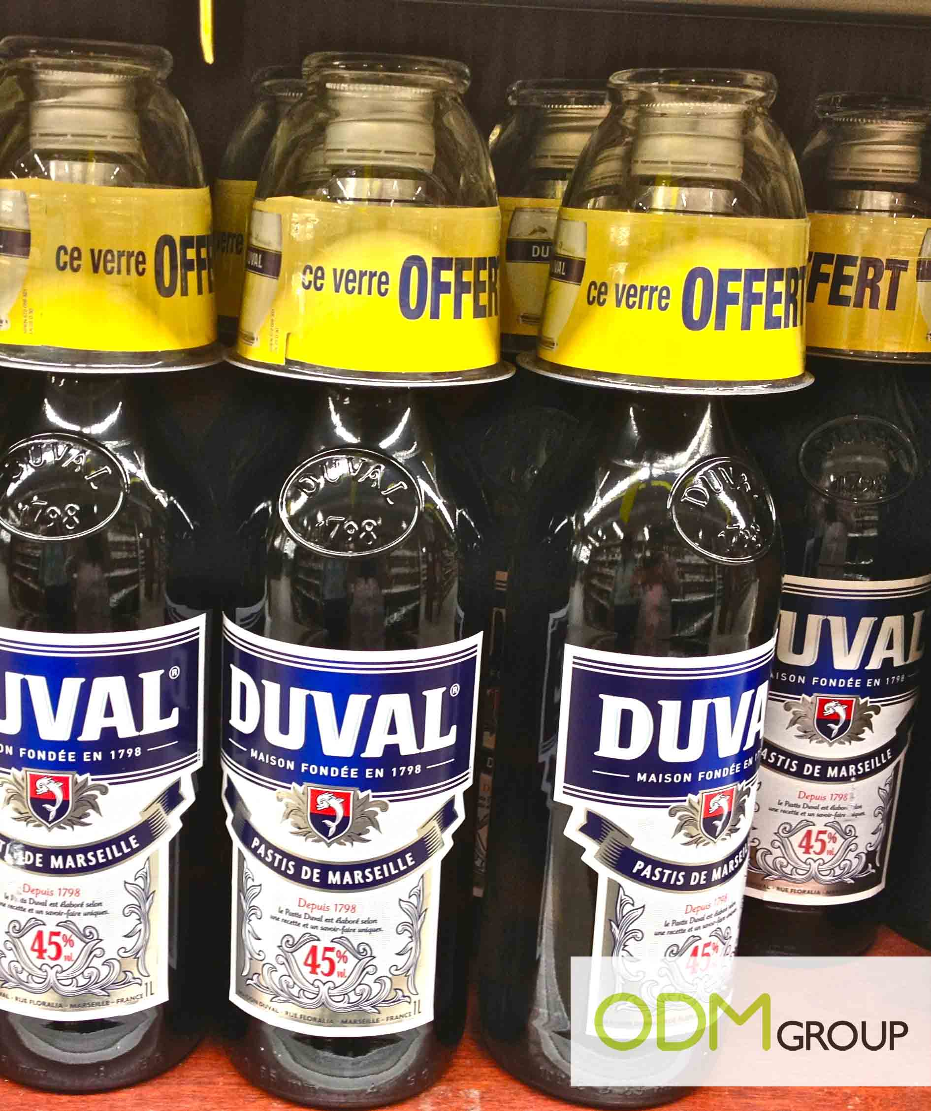Duval Pastis - Branded Glasses
