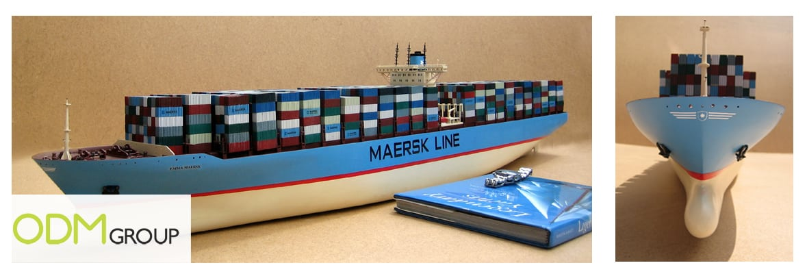 Promotional Container Ship - Maersk