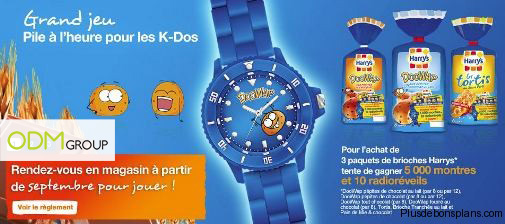 Promotional Merchandise France - Watches by Harry's Doowap