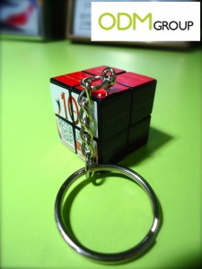Promotional Products Keychains - Rubik's Cube