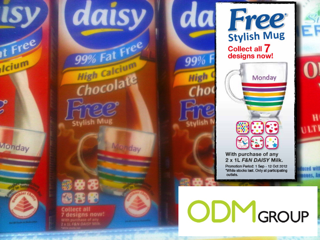 Daisy Milk Free Milk Promo Gifts