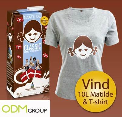 Milk promotion - Matilde Birthday Event