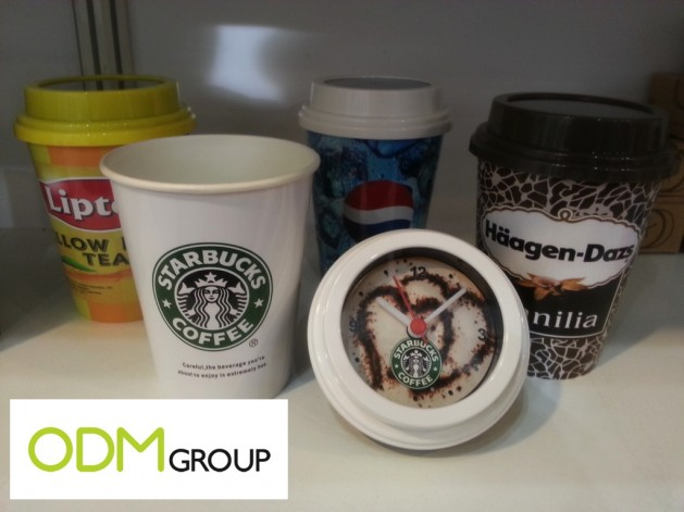 Promo Idea - Promotional Drinking Cup with Clock Lid