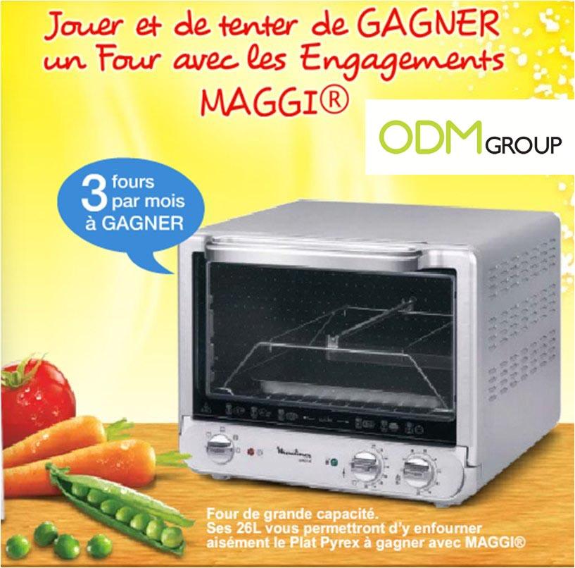 Marketing Gift France - Maggi Oven
