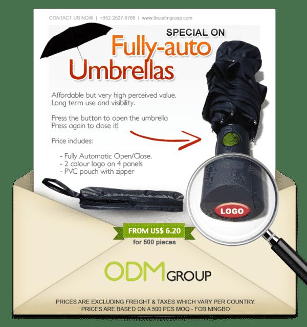 The Auto Executive : A New High End Promotional Umbrella