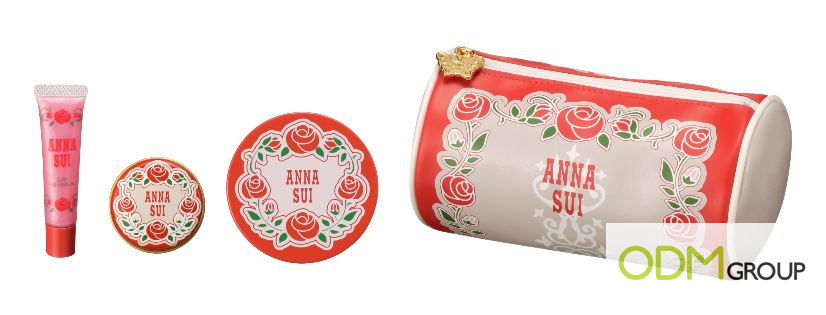 Branded Cosmetic Pouch by Anna Sui