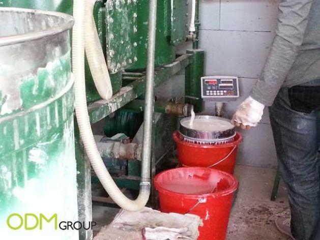 China Factory Visit - Material