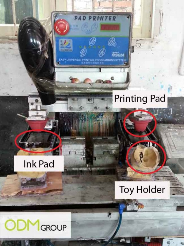 China Factory Visit - Printing Machine Illustrations