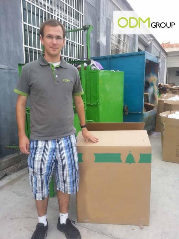 China Factory Visit - Shipping Carton