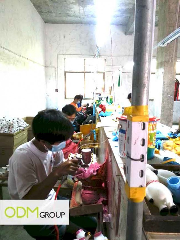 China Factory Visit - Spray on Paint Line