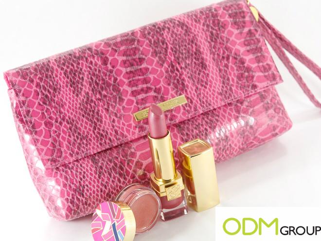 Estee Lauder GWP Promotional Product - Pink Clutch