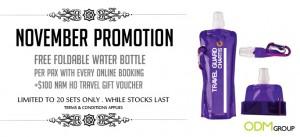 Foldable Travel Water Bottle