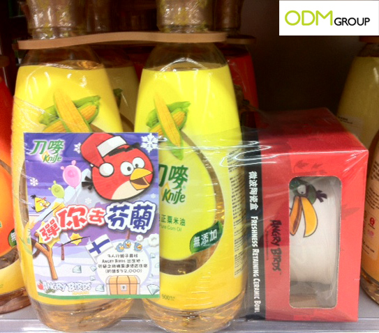Promotional Angry Birds Ceramic Bowl by Knife