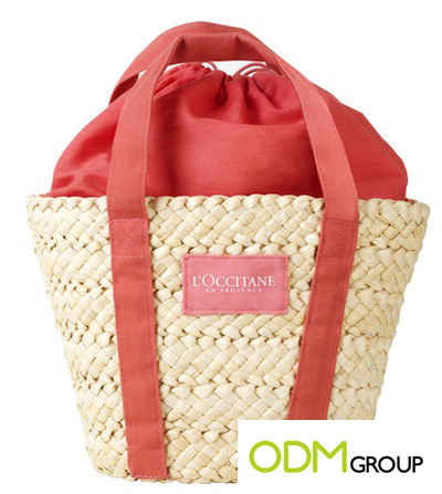 Basket Bag GWP by L'Occitane