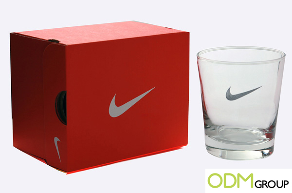 Promotional Glass by Nike