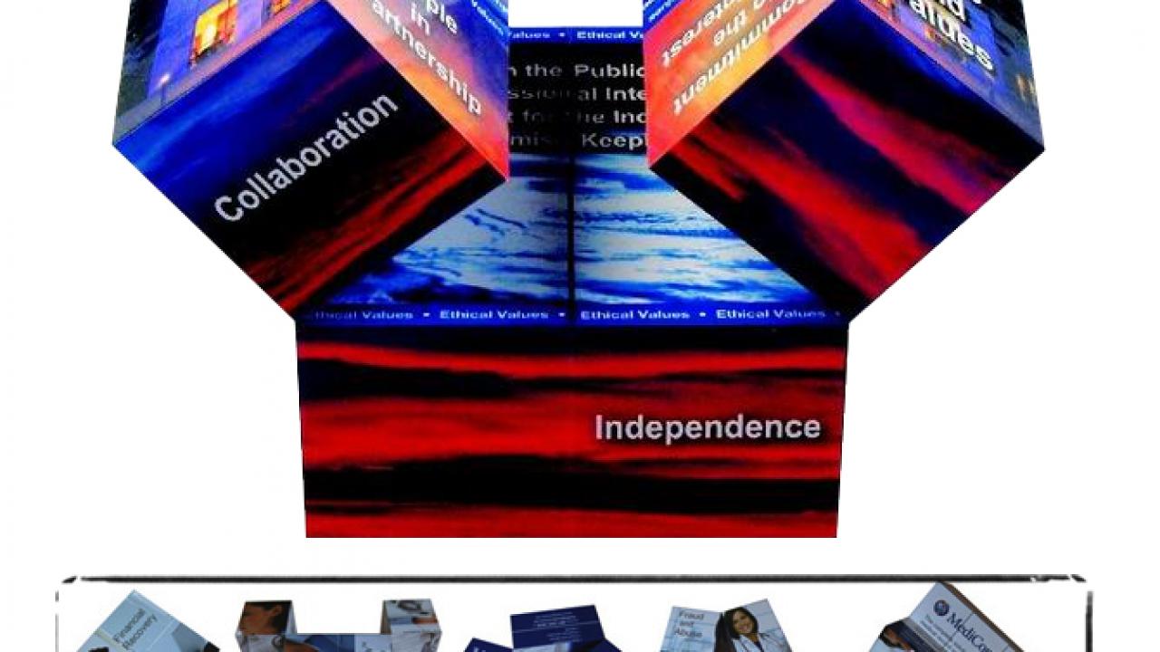 Promo Gift – Folding Magic Cube as Giveaway