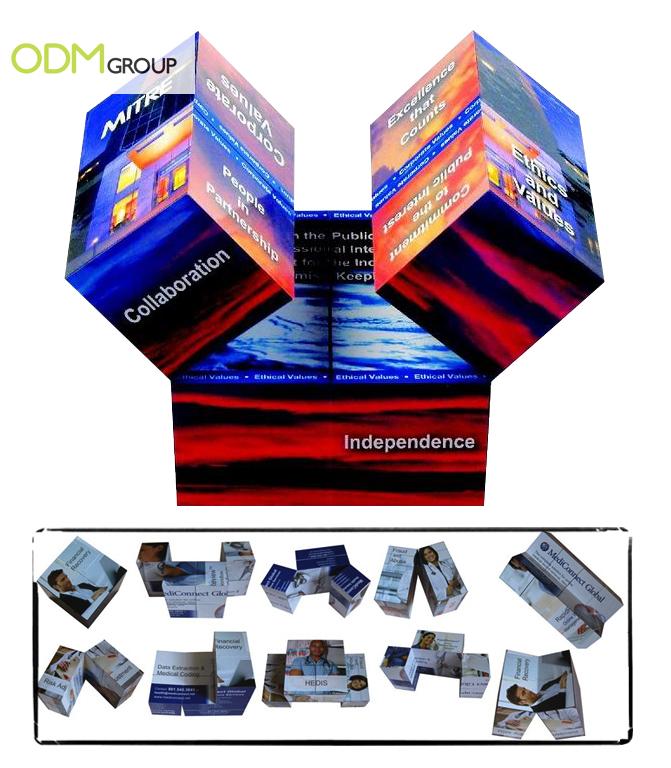 Promo Gift - Folding Magic Cube