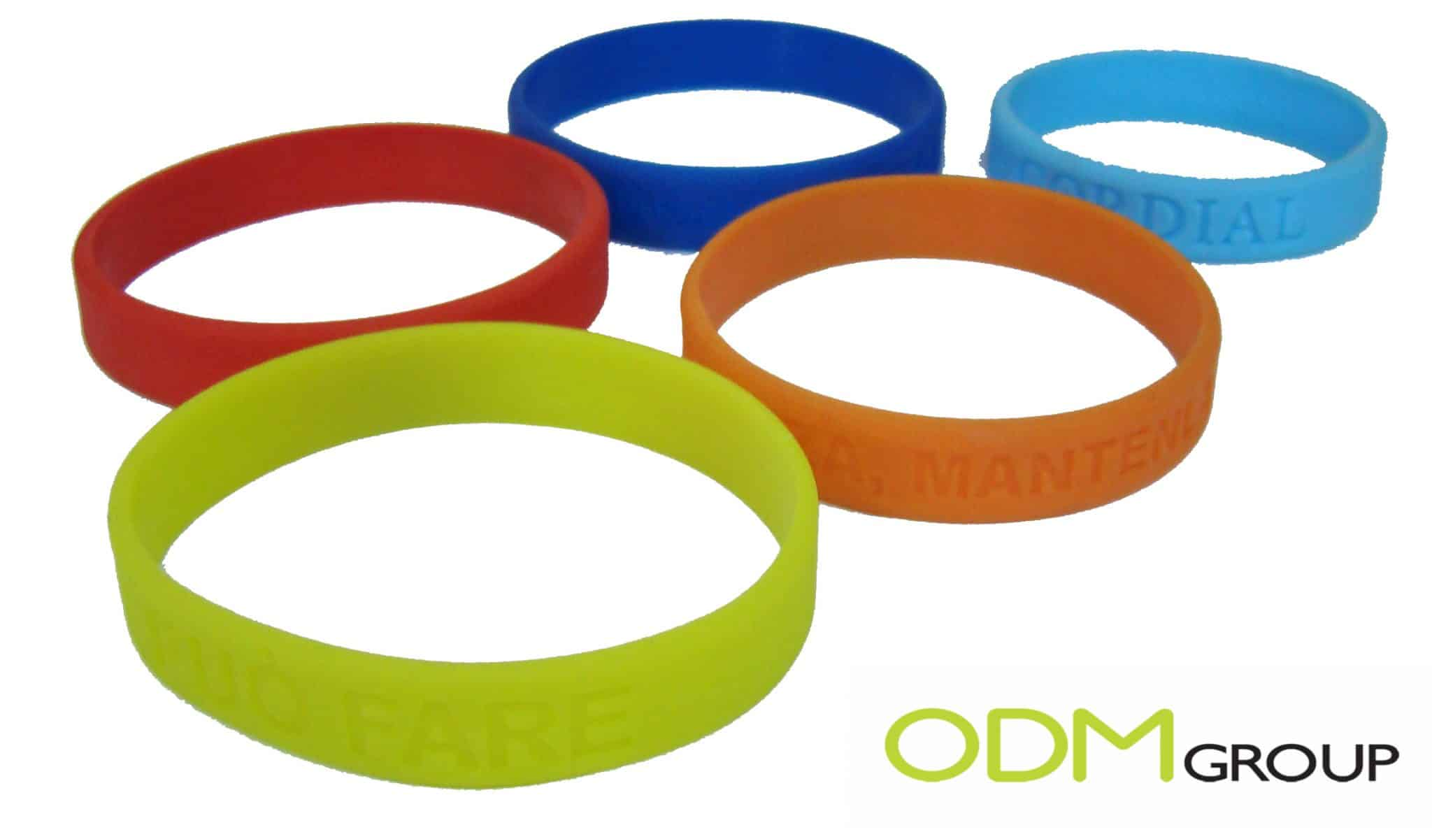 Promo Gift Idea - Colorful Silicone Bracelet