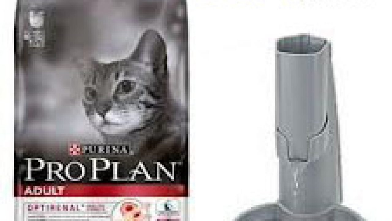 Promotional Cat Food Dispenser By Pro Plan In France