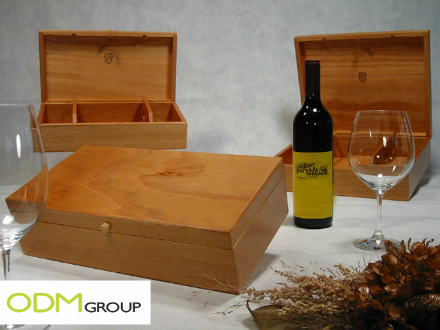 Promotional Gift Idea - Wooden Boxes