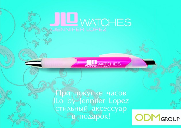 Promotional Pen by Jennifer Lopez - Russia