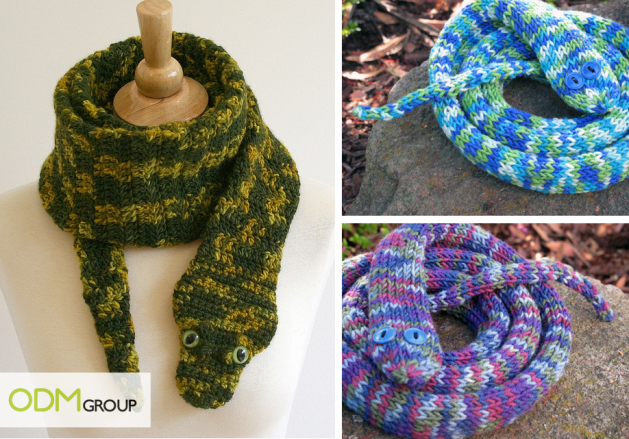 Promotional Snake Scarf