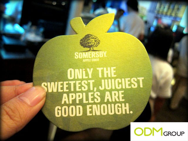 Somersby Apple Cider Promo Coaster