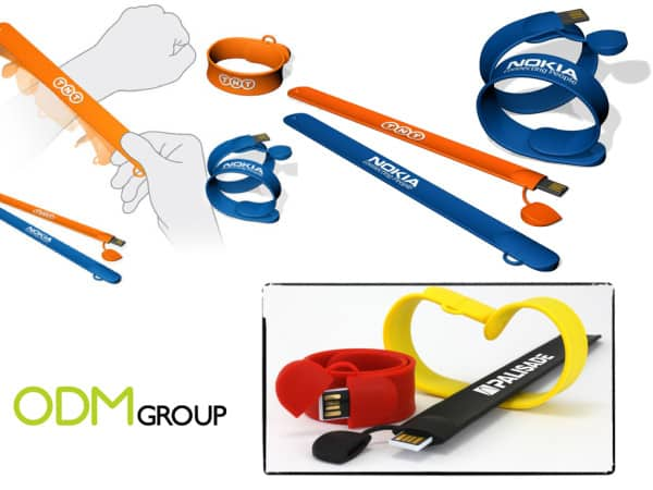 USB Slap Band - A unique and clever promotional idea