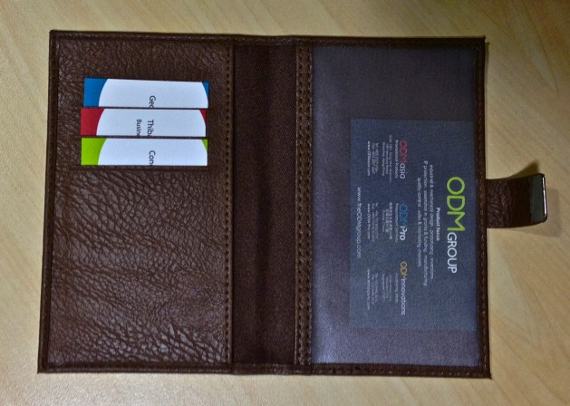 Promotional Leather Wallet by ODM