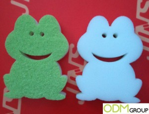 Marketing Ideas: Frog-Shaped Sponge