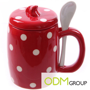 Ceramic Mug with Cover - Promotional Gift
