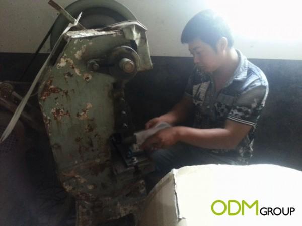 China Factory Visit - Hole Punching