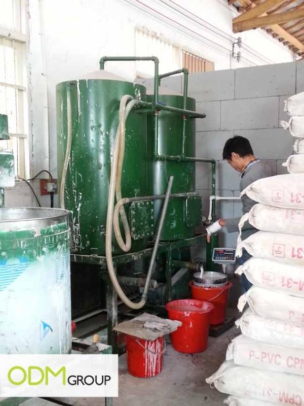 China Factory Visit - Material Making