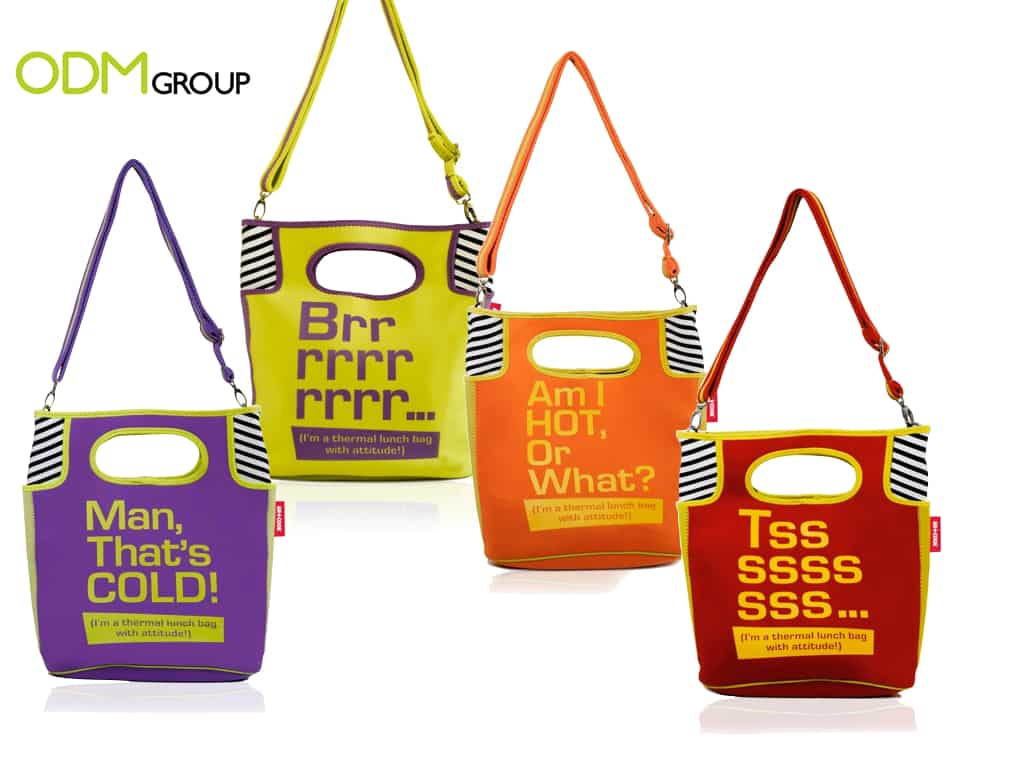 Custom Promos - Lunch Bags with Catchy Phrases