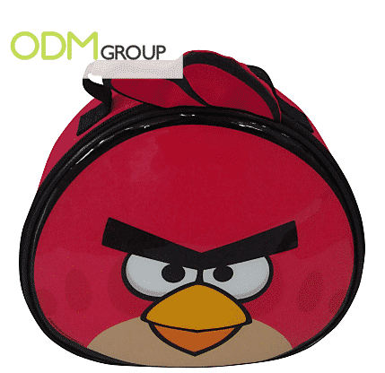 Custom Promos - Licensed Character (Angry Bird) Lunch Bag